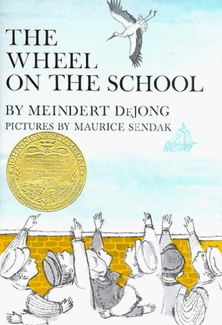 Wheel on the school cover